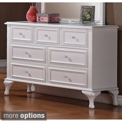 Jeslyn 7-drawer Dresser and Optional Mirror