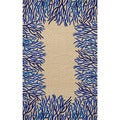 Reef Border Outdoor Rug (7'6 x 9'6)