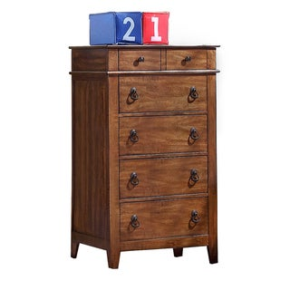 Tucker Light Brown 5-drawer Chest