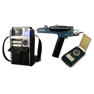 Star Trek Landing Party Roleplay Phaser, Communicator and Tricorder (Pack of 3)