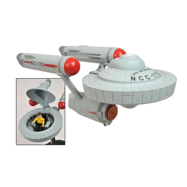Star Trek The Original Series Enterprise Minimates Vehicle 10907779