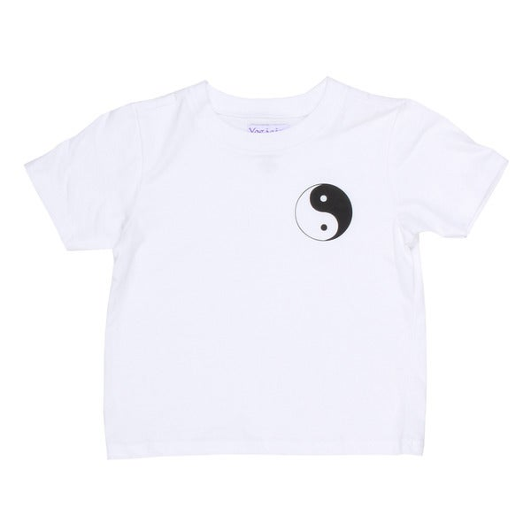 Yogacara Kids 'Ying Yang' Cotton T-shirt