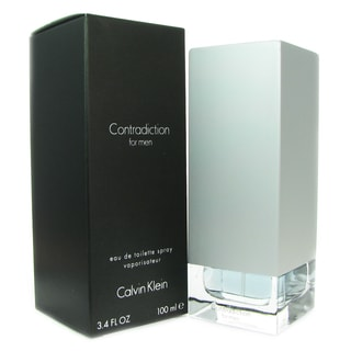 Calvin Klein 'Contradiction' Men's 3.4-ounce Eau de Toilette Spray