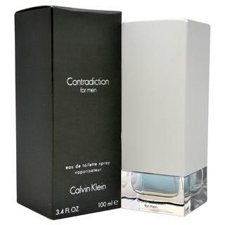 Calvin Klein Contradiction Men's 3.4-ounce Eau de Toilette Spray