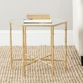 Safavieh Treasures Kerri Gold/ Mirror Top Accent Table