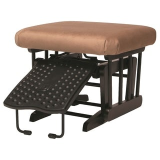 Dutailier Ultramotion Coffee/ Light Brown Nursing Ottoman for Sleigh and 2-post Gliders