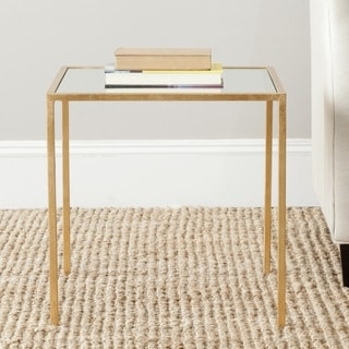 Safavieh Treasures Kiley Gold/ Mirror Top Accent Table