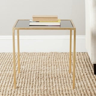 Safavieh Treasures Kiley Gold/ Black Top Accent Table