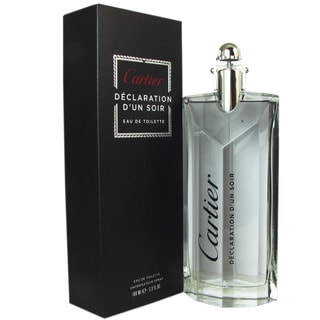 Cartier 'Declaration d'un Soir' Men's 3.3-ounce Eau de Toilette Spray