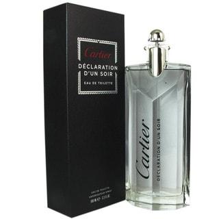 Cartier Declaration dun Soir Men's 3.3-ounce Eau de Toilette Spray
