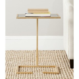 Safavieh Treasures Neil Gold/ Black Top Accent Table