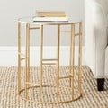 Safavieh Treasures Doreen Gold/ Mirror Top Accent Table