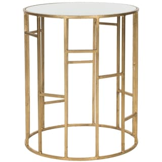 Safavieh Treasures Doreen Gold/ White Top Accent Table