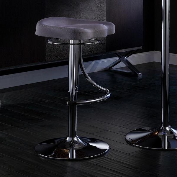Inspire Q Lorin Adjustable Swivel Counter Barstool