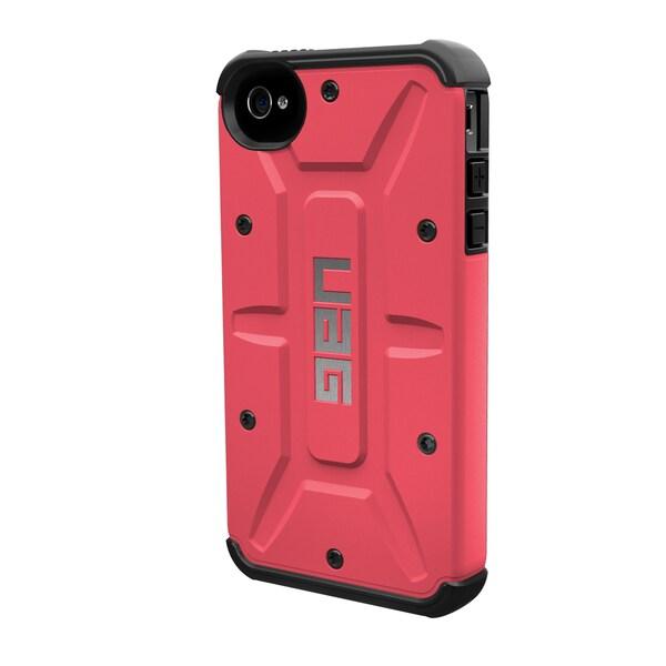 Urban Armor Gear Case for Apple iPhone 4/4S w/ Screen Protector - Plasma