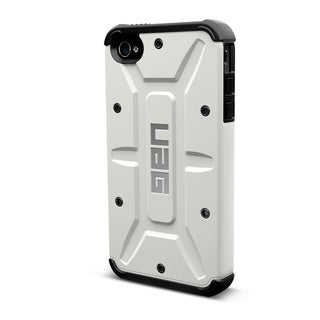 Urban Armor Gear Case for Apple iPhone 5 w/ Screen Protector - White