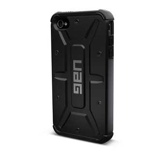 Urban Armor Gear Case for Apple iPhone 5/5s w/ Screen Protector - Black