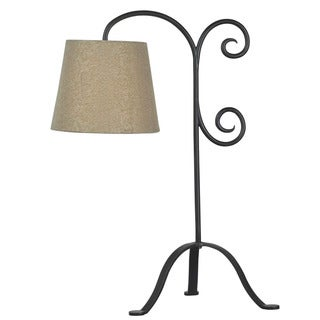 Becker Bronze Graphite Table Lamp