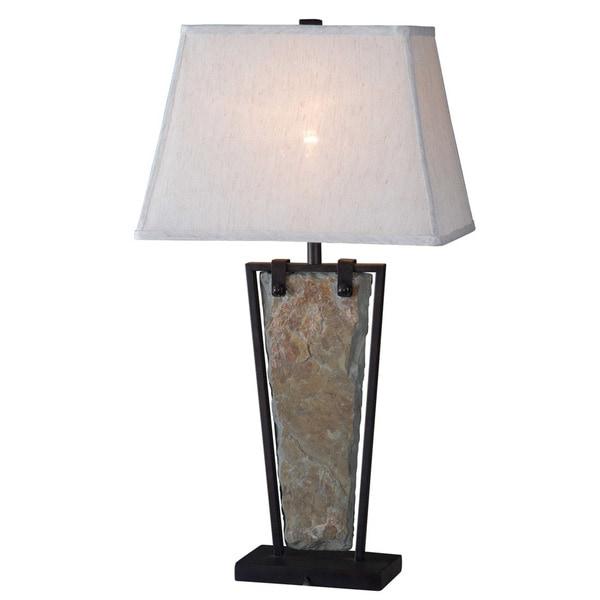 Calvert Natural Slate Table Lamp
