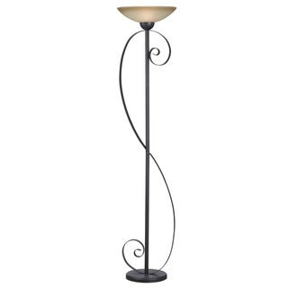 Betchet Oil Rubbed Bronze Torchiere