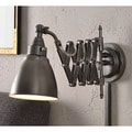 Ambrose Antique Nickel Swing Arm Lamp