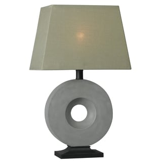 Werbowy 27-inch Concrete Outdoor Table Lamp