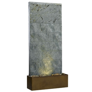 Ladon Slate Table Fountain