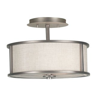 Scopello 2-Light Semi Flush Light Fixture