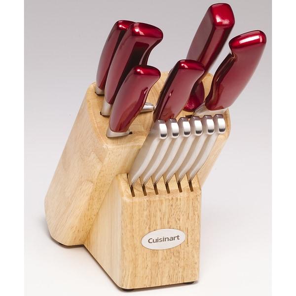 Cuisinart Stainless Steel 14-piece Knife Block Set
