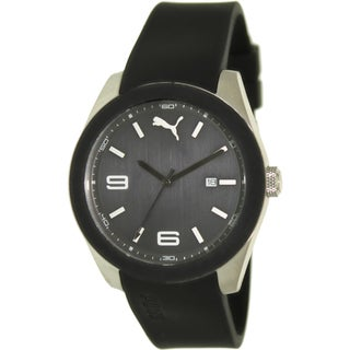Puma Men's Sport Black Dial Watch