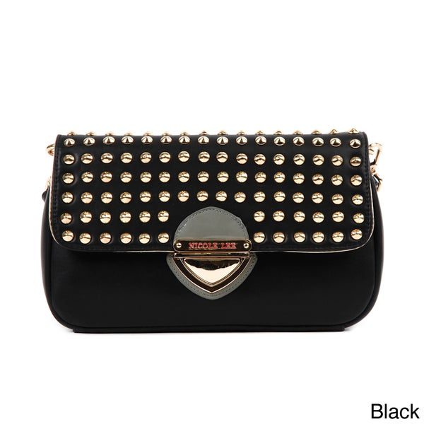 Nicole Lee 'Yvonne' Studded Crossbody Bag