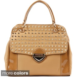 Nicole Lee 'Yvonne' Studded Satchel Bag