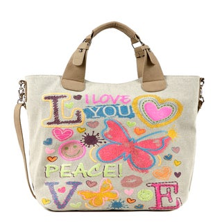 Nikky by Nicole Lee 'Carolina' Canvas Tote Bag