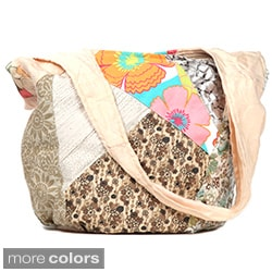 Nikky by Nicole Lee 'Iris' Patchwork Sling Bag