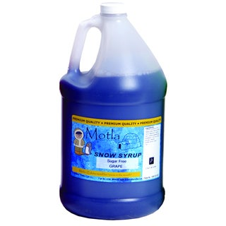 Motla 1-gallon Sugar-free Grape Snow Cone Syrup