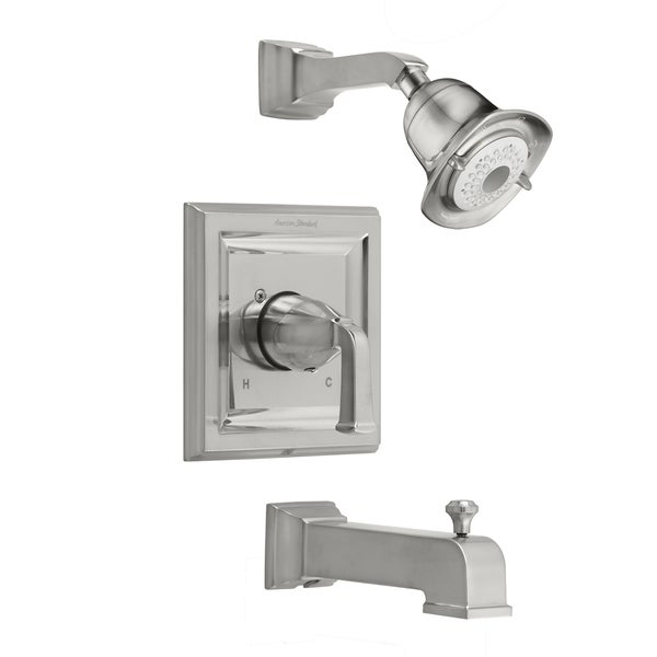 American Standard Town Square Satin Nickel Single-handle 3-function Tub and Shower Trim Kit with Less Rough Valve Body