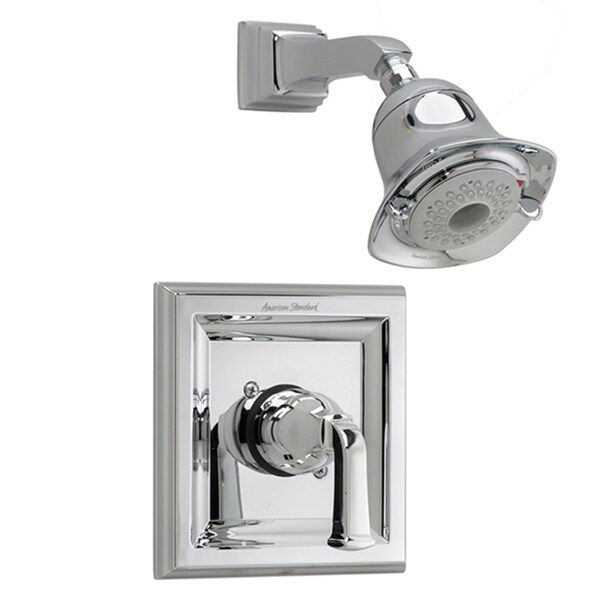 American Standard Town Square Polished Chrome Single-handle 3-function Shower Only Trim Kit with Less Rough Valve Body