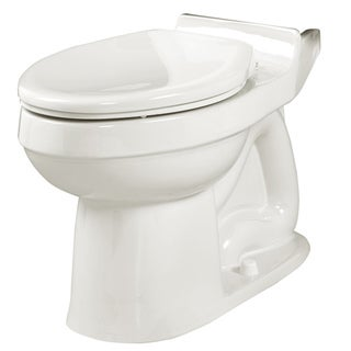 Champion Elongated White Seatless Toilet Bowl