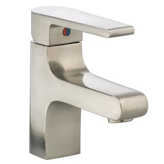 American Standard Studio Monoblock Mid-Arc Single-hole Single-handle Satin Nickel Bathroom Faucet