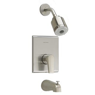 American Standard Studio Satin Nickel Single-handle 3-function Tub and Shower Trim Kit with Less Rough Valve Body