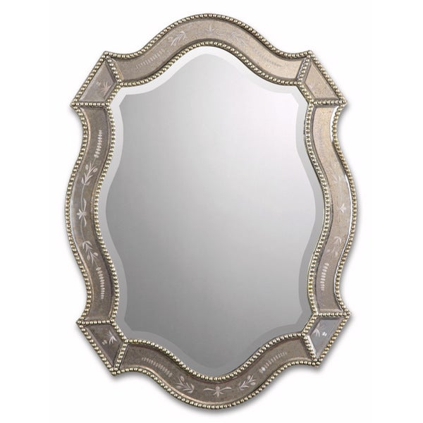 Uttermost Felicie Oval Gold Mirror
