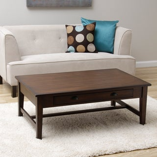 Cooper Deep Chocolate Coffee Table