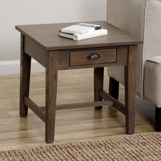 Cooper Provence with Black Grain End Table