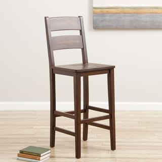 Cooper 30-inch Deep Chocolate Stool