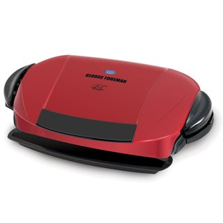 George Foreman Next Grilleration Red Removable Plate Grill