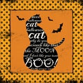 Stephanie Marrott 'Halloween Cat' Paper Print (Unframed)