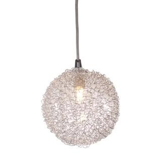 Cassius Coiled Aluminum Ceiling Lamp