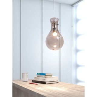 'Nuclear' Smoked Bulb Ceiling Lamp
