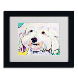 Pat Saunders-White 'Buttons' Framed Matted Art