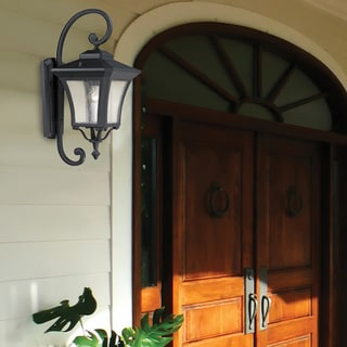 Waterdown 1-light Sand Black Outdoor Wall Light